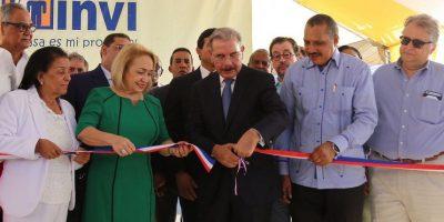 Gobierno entrega un centro de diagnóstico y 160 apartamentos en Dajabón