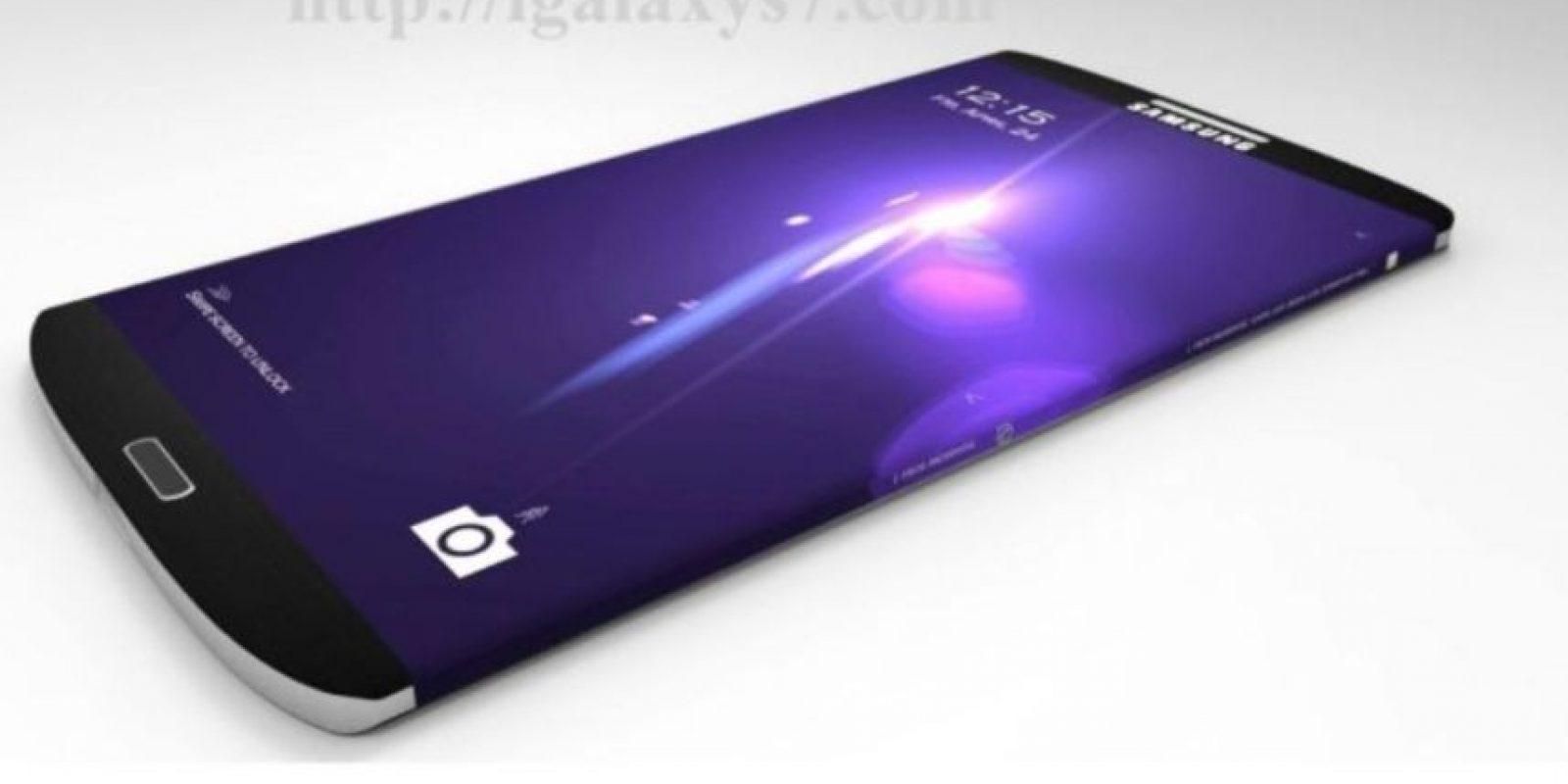 Conceptos del posible Samsung Galaxy S7 Foto:vía Tumblr.com