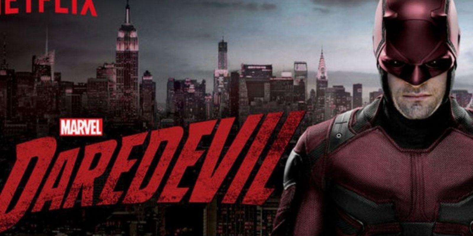 """""""Matt Murdock"""" es un abodado de Nueva York que queda ciego tras un accidente que, a su vez, incrementó sus cuatro sentidos restantes, mismas que lo ayudarán a luchar contra el crimen durante las noches bajo el sobrenombre de """"Daredevil"""". Foto:Netflix"""