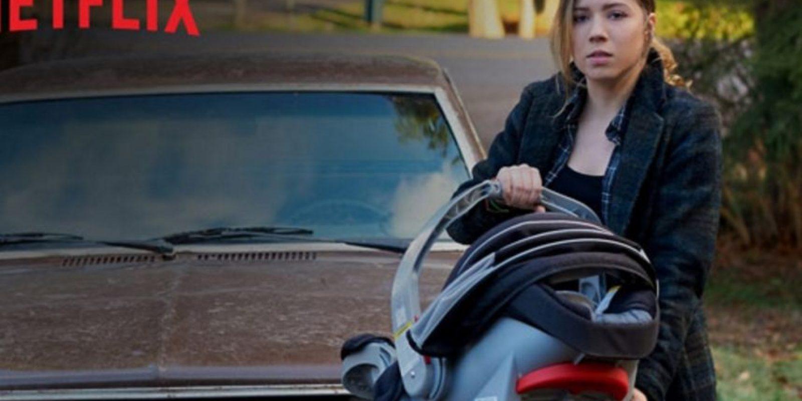 """Protagonizada por Jennette McCurdy como """"Wiley Day"""", la serie trata sobre una adolescente embarazada que vive en una ciudad de Pretty Lake y que enfrenta una misteriosa enfermedad que está matando a los mayores de 21 años. Foto:Netflix"""