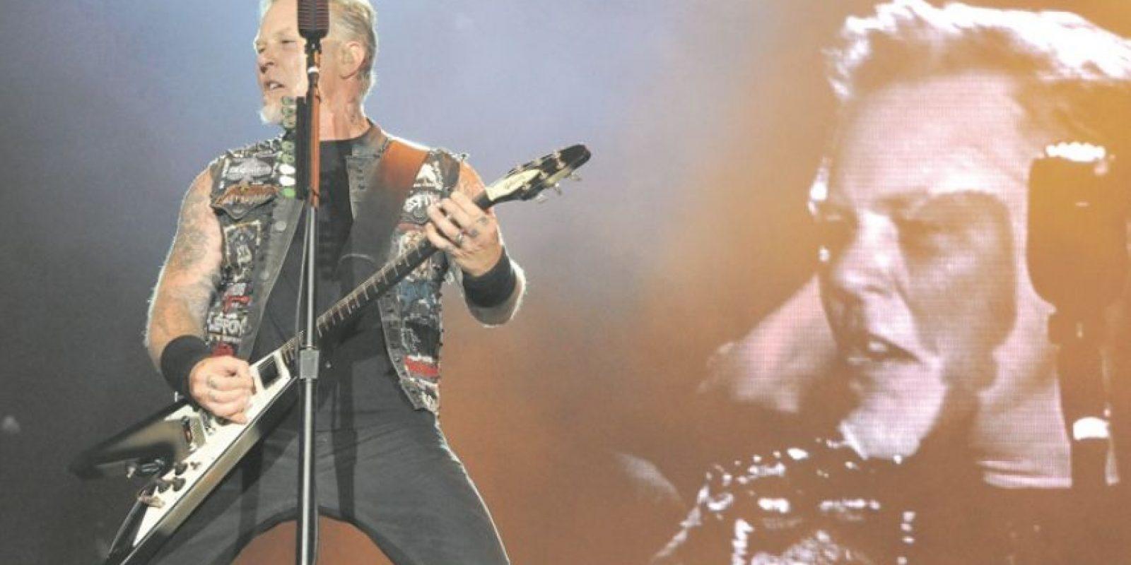 """2- Metallica. El que viene podría ser el año que cierre la larga sequía discográfica de Metallica. Han pasado ya siete años desde """"Death Magnetic"""" (2008), del que el guitarrista Kirk Hammet ha dicho insistentemente que era """"un buen punto de partida"""" para su próximo álbum, que """"probablemente llegará a finales de 2016, como muy tarde a principios de 2017″. Foto:Archivo"""