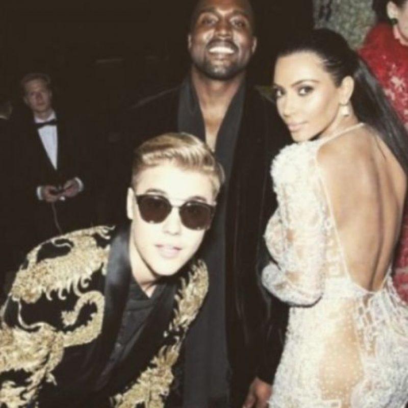 Bieber también es amigo de Kanye West. Foto:vía Instagram/justinbieber