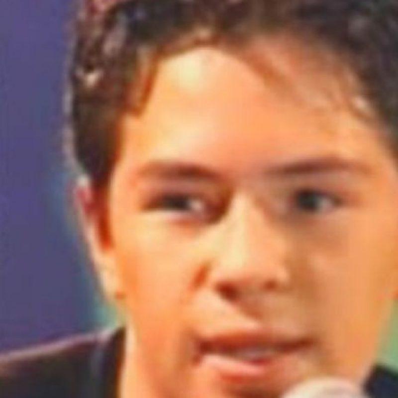 """Sergio apareció en el programa """"Muévete"""". Y desapareció. Se dijo que murió a los 13 años de un paro cardíaco, lo que es mentira. Foto:vía Televisa"""