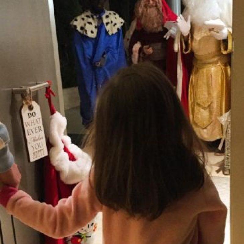 Así sorprendieron los Reyes Magos a la hija de Iniesta Foto:Vía instagram.com/andresiniesta8