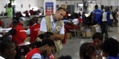 Enviado internacional observa el desarrollo de las elecciones. Foto:AGENCIAS