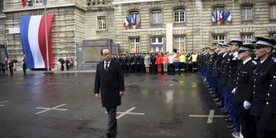 Sucedió a un año exacto del atentado al semanario Charlie Hebdo Foto:AP