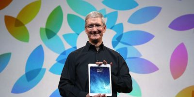 También el iPad. Foto:Getty Images