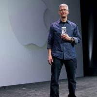 Tim ha presentado varias versiones del iPhone. Foto:Getty Images
