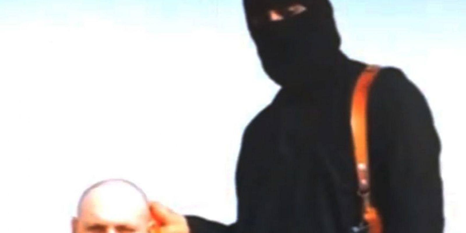 Es la segunda víctima mortal en video del Estado Islámico Foto:AP