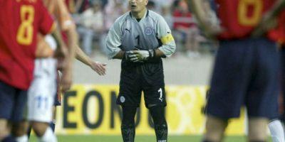 4. José Luis Chilavert marca cuatro dianas en la eliminatoria para el Mundial de Corea-Japón 2002 Foto:Getty Images