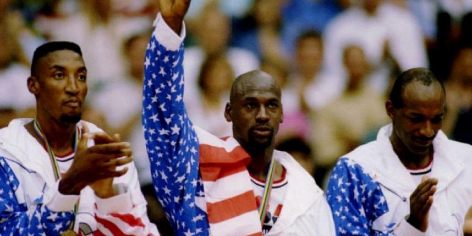"""7. El """"Dream Team"""" de Barcelona 92 se bañó en oro Foto:Getty Images"""