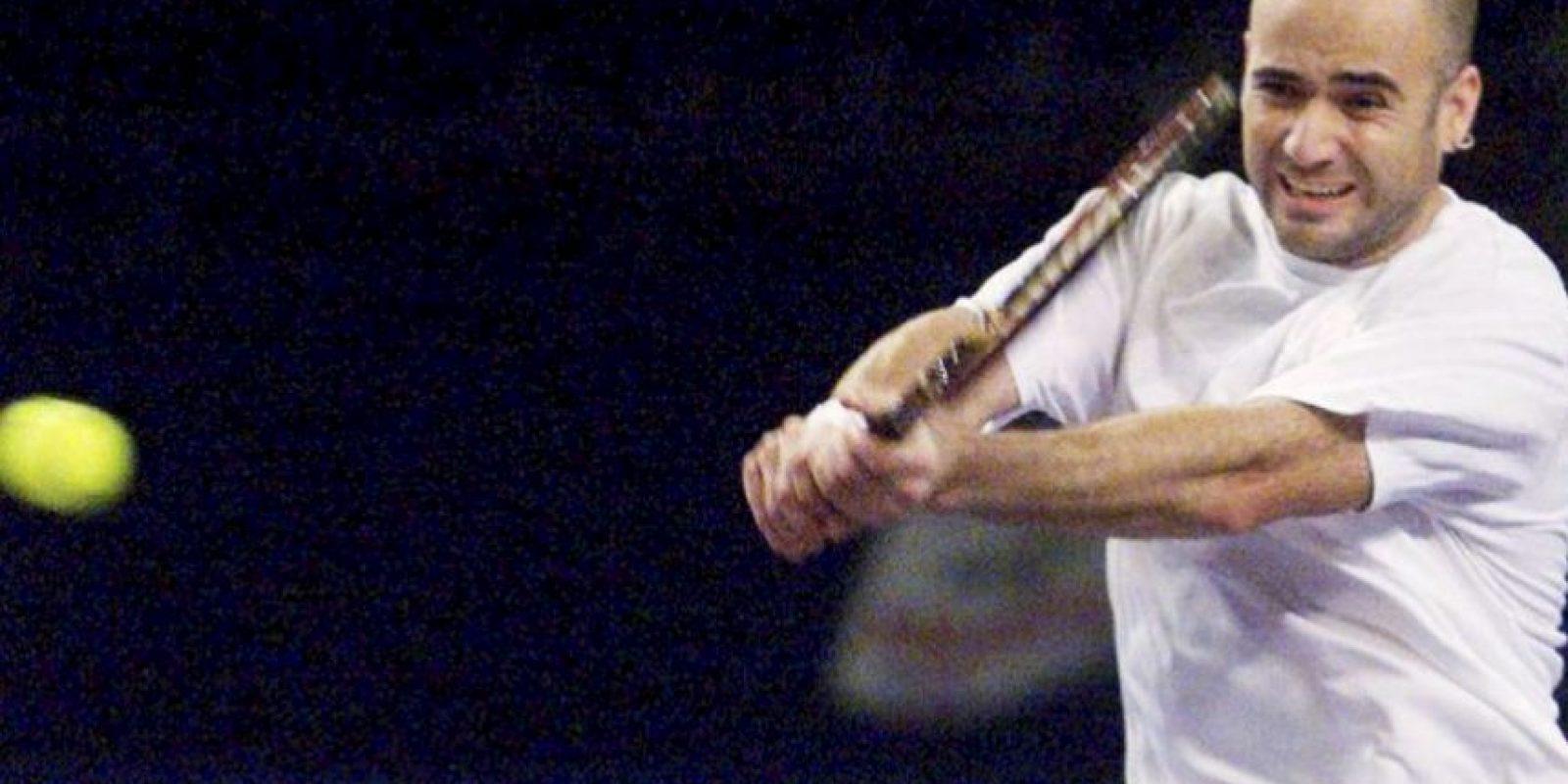 10. En 2000, el tenista estadounidense Andre Agassi se mantuvo como el líder del ranking de la ATP por 30 semanas consecutivas. Foto:Getty Images