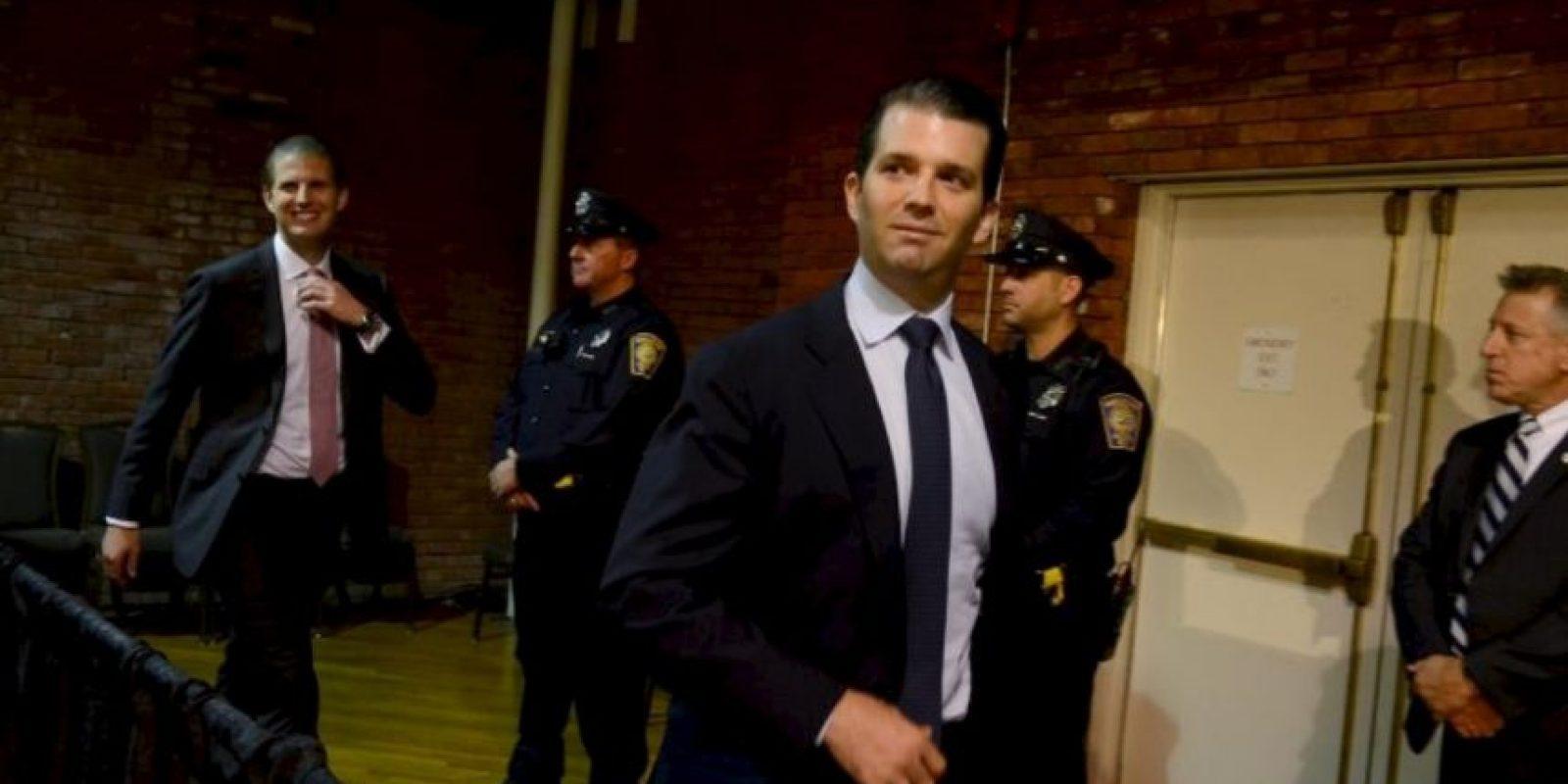 Donald Trump Jr. Foto:Getty Images