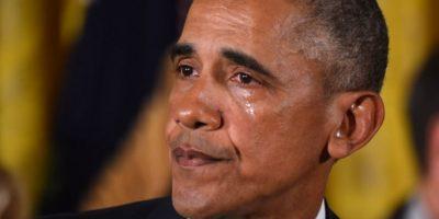 """""""Obama llorando"""" y las fotos más importantes del inicio de 2016"""