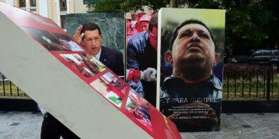 Como fiel seguidor del chavismo, el mandatario venezolano asegura estar indignado. Foto:AFP