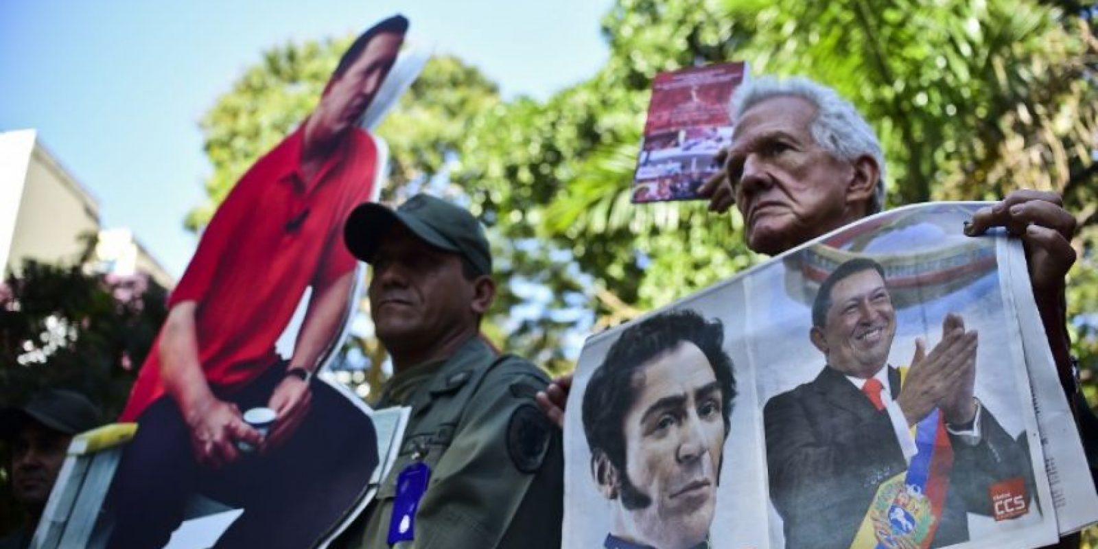 Los ciudadanos venezolanos han salido a las calles a manifestar su descontento. Foto:AFP