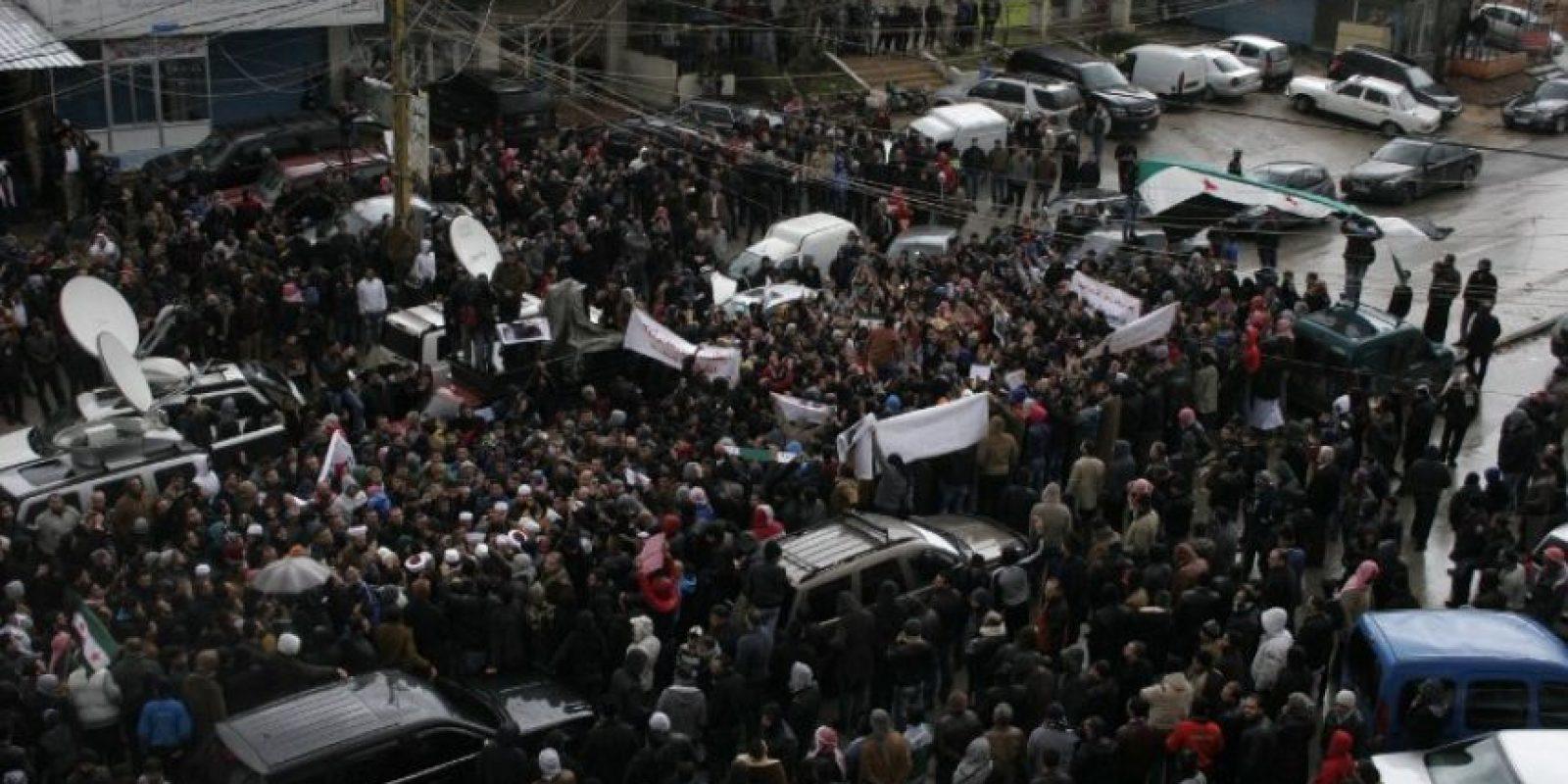 Esto debido a las órdenes del régimen, las cuales complican el acceso a la zona. Foto:AFP