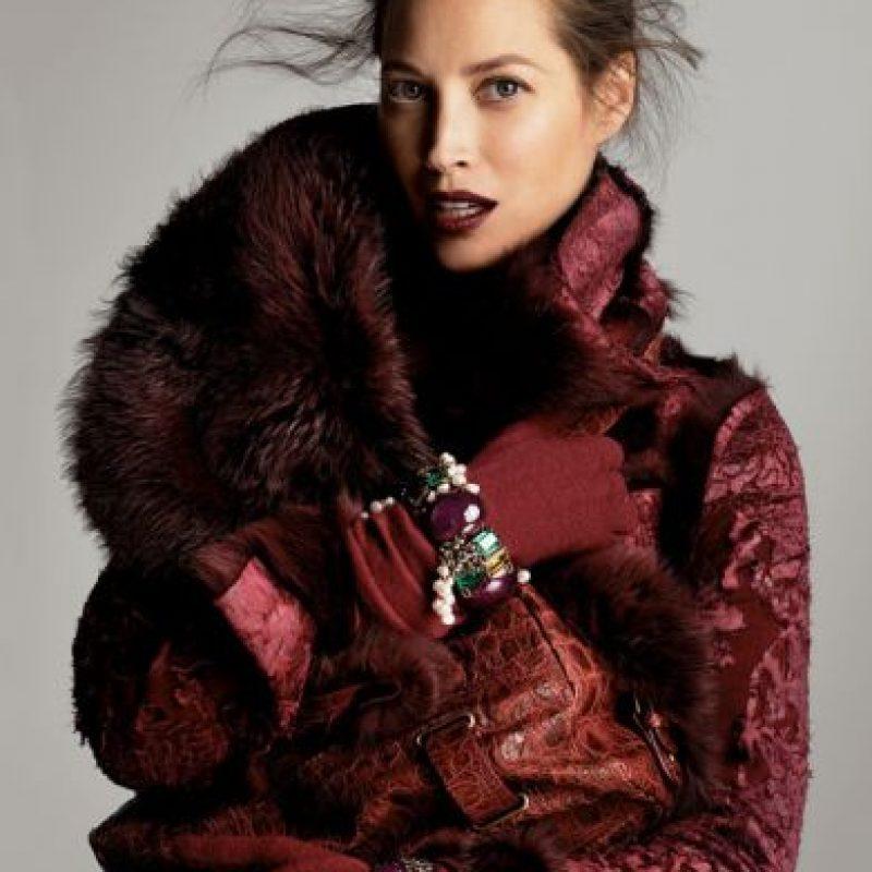 En el mundo de las supermodelos, era conocida por ser la más amistosa. Foto:vía Vogue