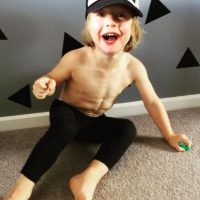 Él es el niño con el mejor físico del mundo. Foto:Vía instagram.com/musclylittlemonster
