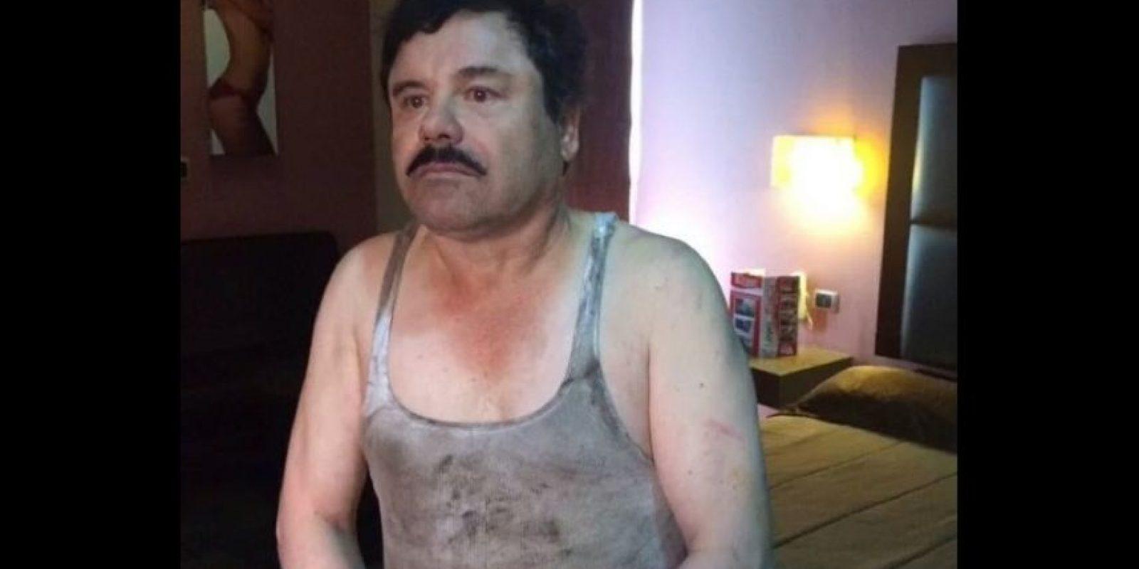 """Ahora se han hecho públicas nuevas fotografías de """"El Chapo"""". Foto:Vía Twitter"""