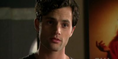 "Penn Badgley era ""Dan Humphrey"". Foto: vía The CW"
