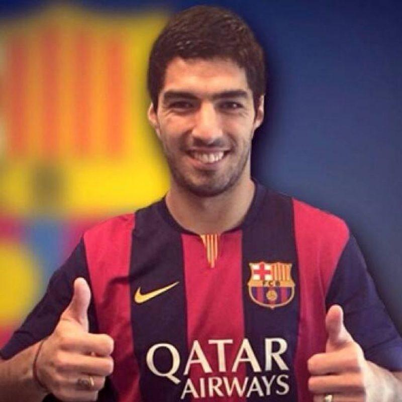 4. Luis Suárez Foto:Vía facebook.com/suarez16luis