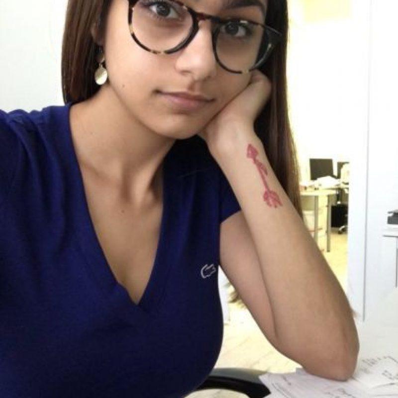 La actriz de cine para adultos, Mia Khalifa, tiene 22 años y ha protagonizado varias polémicas. Foto:Vía twitter.com/miakhalifa
