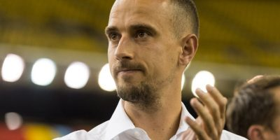 Mark Sampson (Gales) Foto: Getty Images
