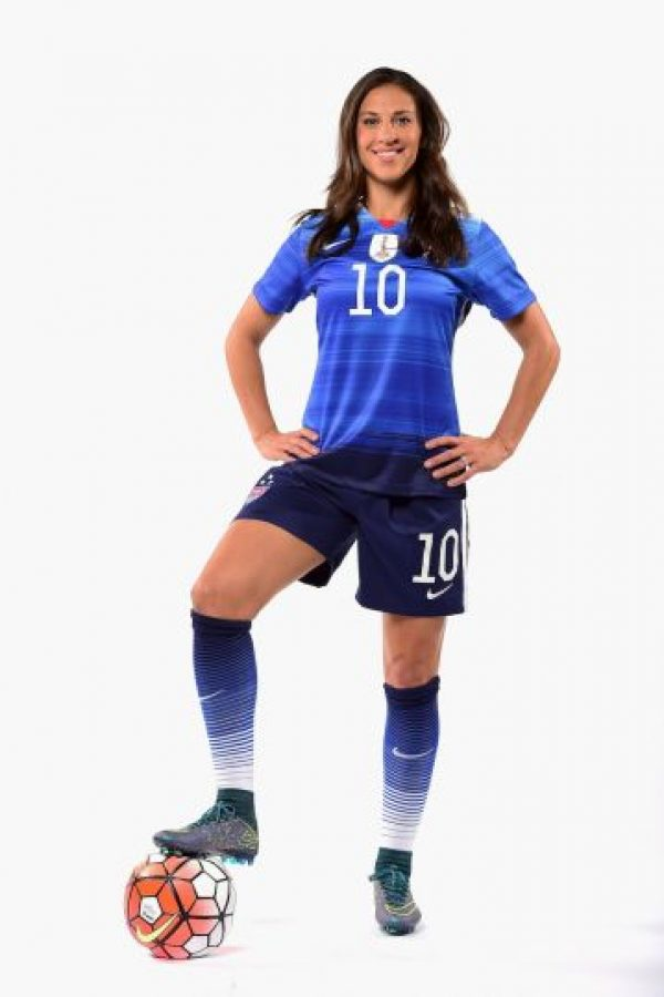 Carli Lloyd (Estados Unidos) Foto: Getty Images