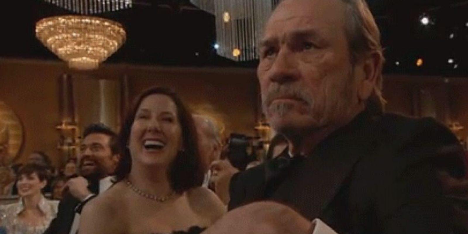 La cara de Tommy Lee Jones sirvió para más de un meme Foto:NBC