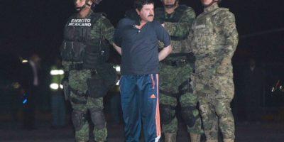 Guzmán se fugó ante las narices de las autoridades mexicanas. Foto:vía Twitter
