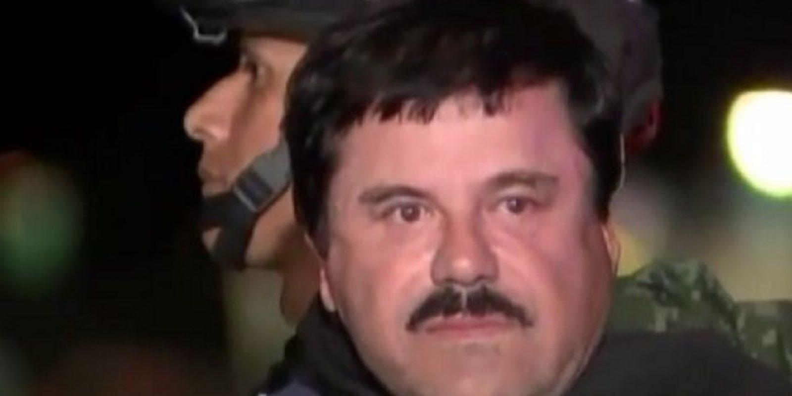 """La fuga de """"El Chapo"""" duró 181 días. Foto:vía Twitter"""