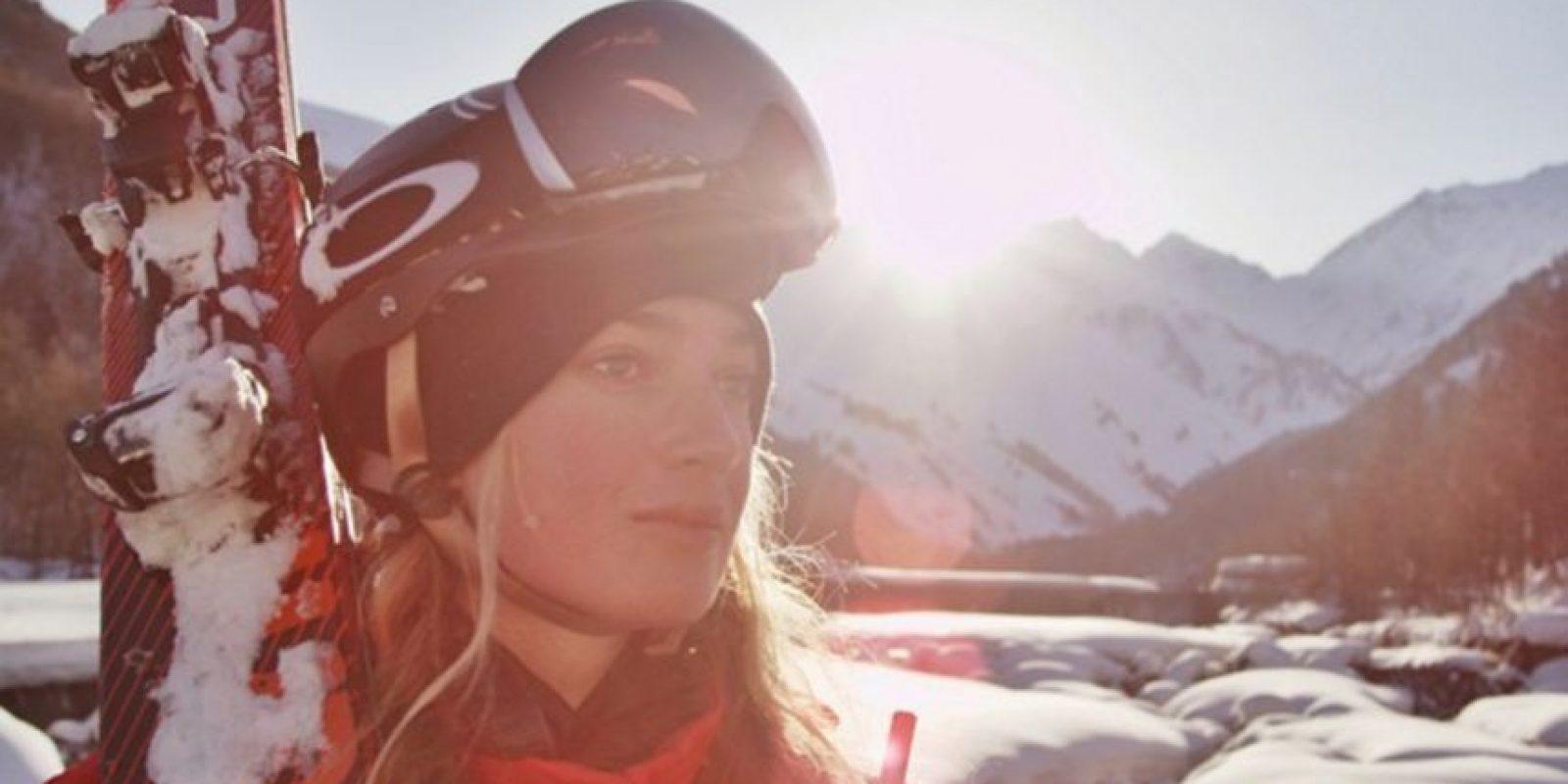 Es Sierra Quitiquit, esquiadora profesional Foto:Vía instagram.com/sierraquitiquit