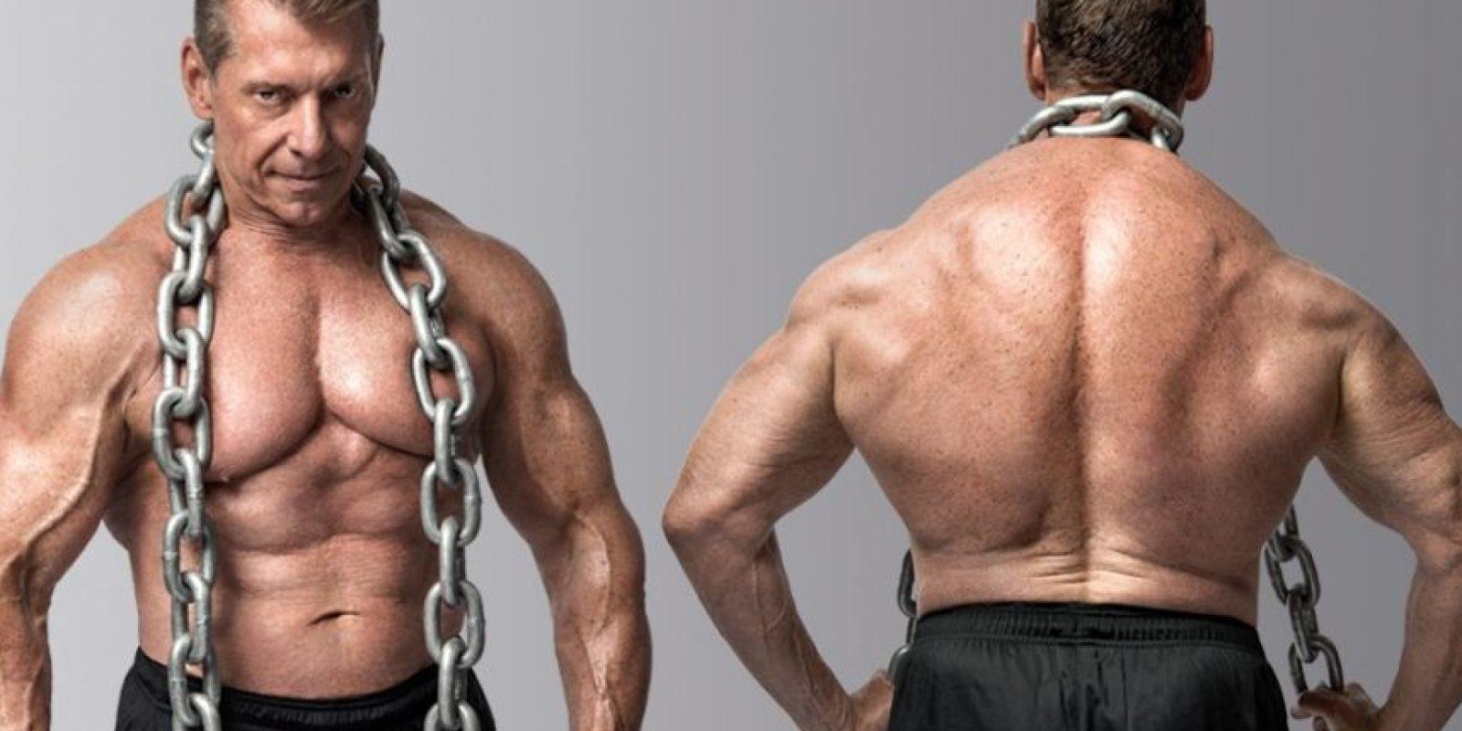 Vince McMahon es el dueño de la WWE y a sus 69 años posee una figura envidiable. Foto:Vía twitter.com/VinceMcMahon