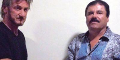 """Quien logró que Sean Penn pudiese entrevistar a """"El Chapo"""" fue Kate del Castillo, famosa actriz mexicana. Foto:vía Rolling Stone"""