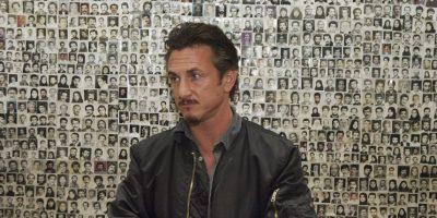 """Según otros periodistas que estuvieron en el lugar, el actor y activista se registró en el hotel como """"Sean Justin Penn, periodista"""". Foto:Getty Images"""