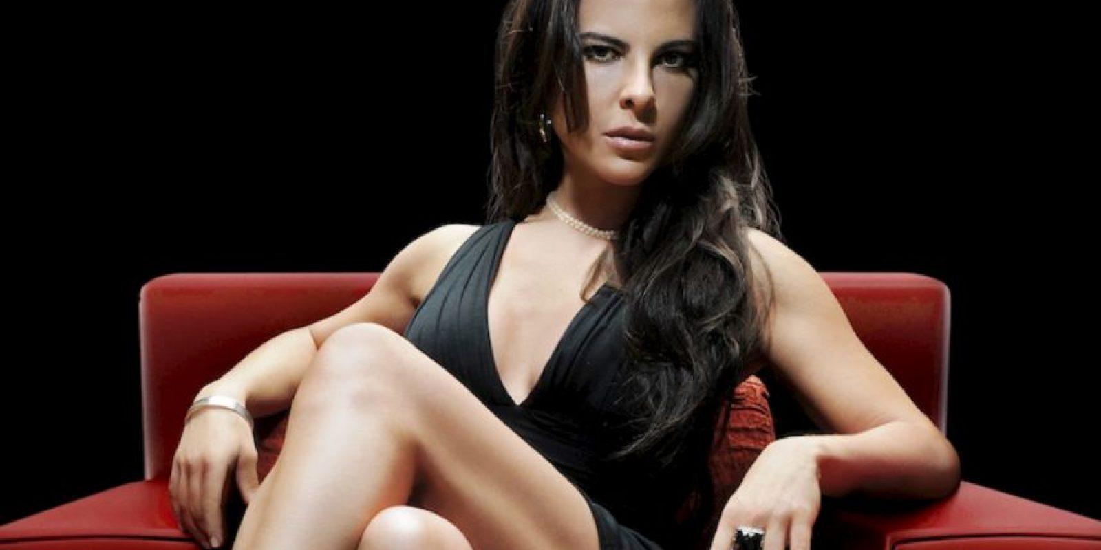 Kate del Castillo es hija del reconocido actor mexicano Eric del Castillo. Ya era famosa en su país y en Latinoamérica. Foto:vía Telemundo