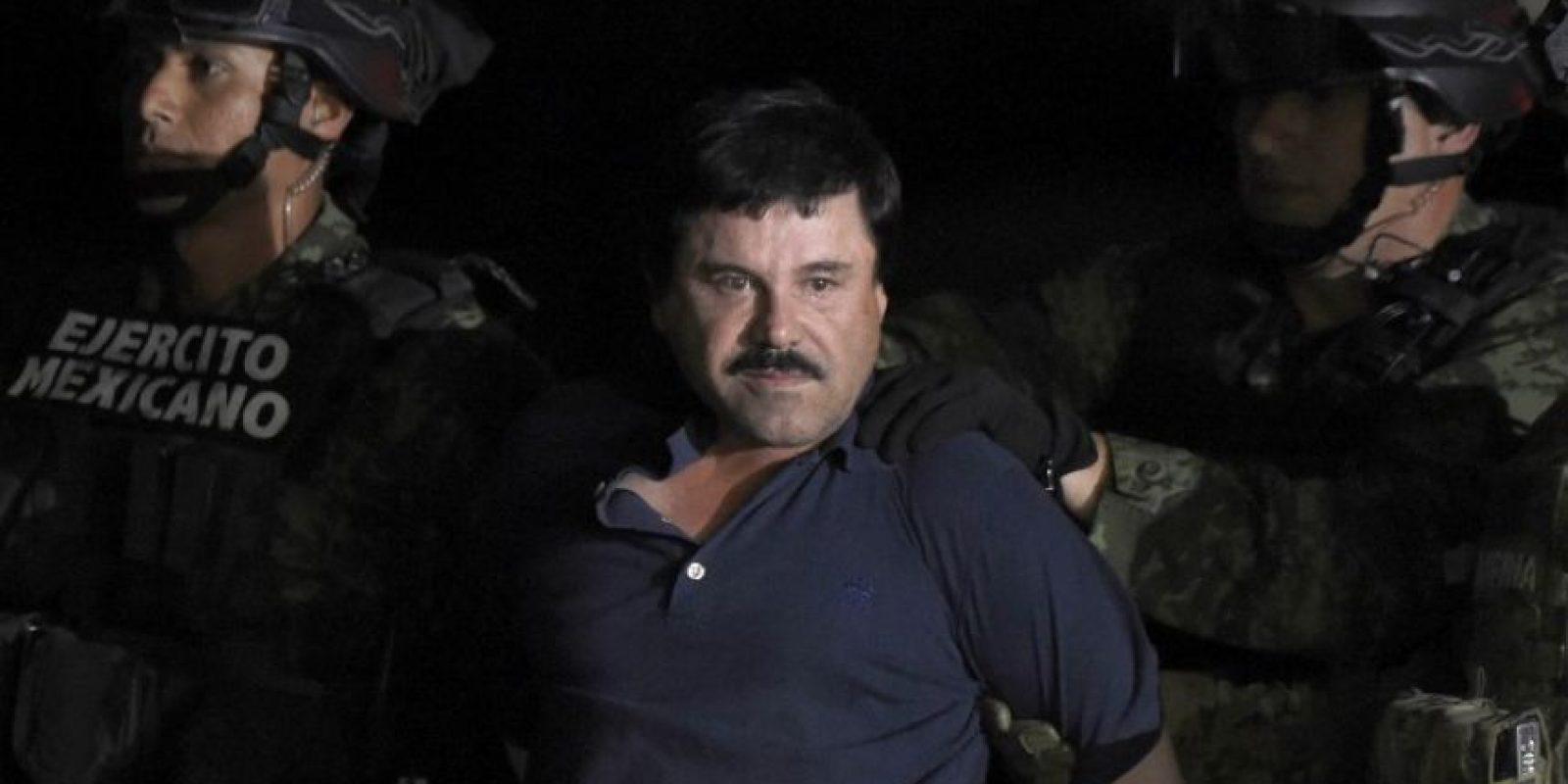 Su tercera captura fue en Sinaloa, México. Foto:AFP