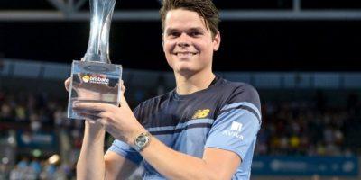 Tenis: Raonic vence a Federer en Australia y Wawrinca gana tercer título en la India