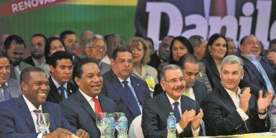 Danilo Medina fue proclamado candidato presidencial por el Partido Cívico Renovador (PCR) Foto: Fuente Externa