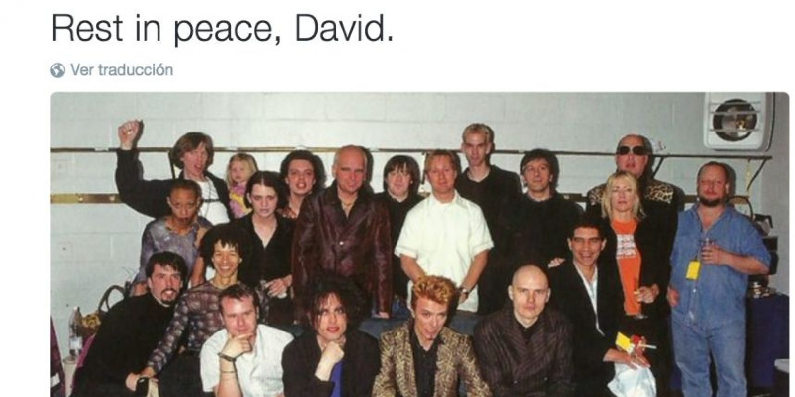 Foo Fighters: Que descanse en paz, David Foto:Twitter.com