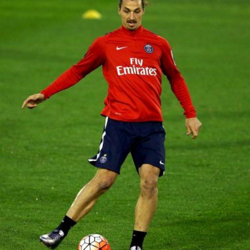 Zlatan Ibrahimovic, capitán de la Selección de Suecia Foto:Getty Images