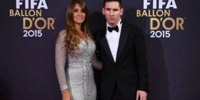 Balón de Oro 2015: El curioso momento que protagonizaron Messi, Cristiano y Antonella Roccuzzo