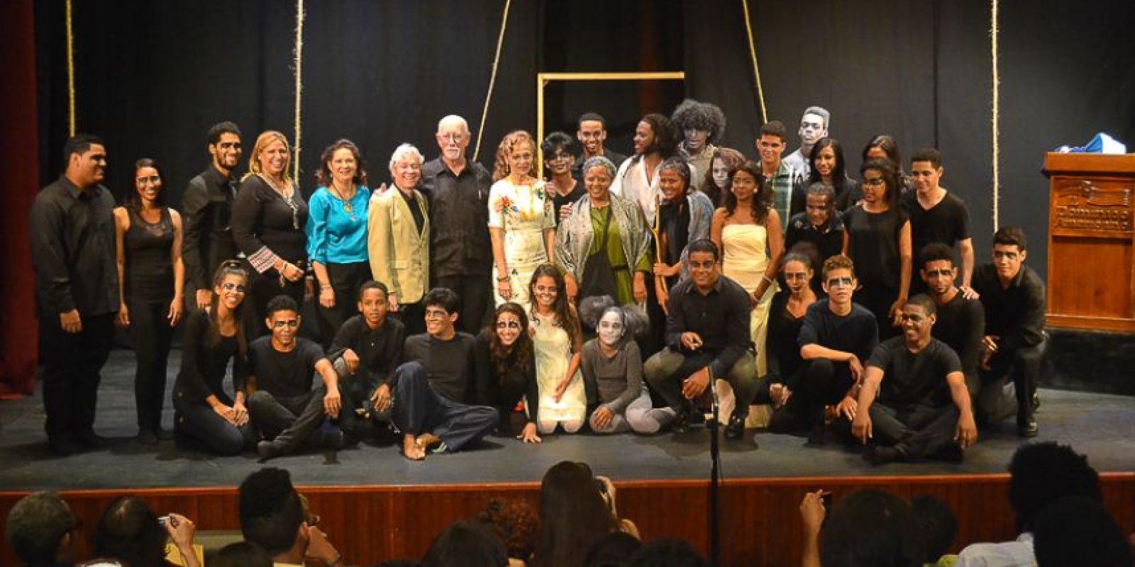 El Teatro Taller del Instituto Domínico Americano montó la obra Más allá de la Busqueda, creación de García Guerra Foto:F.E.