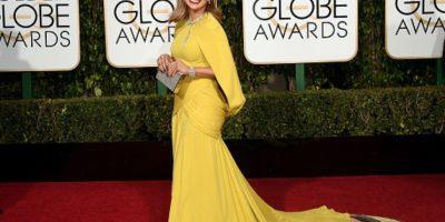 El vestido fue muy controvertido. Foto:vía Getty Images