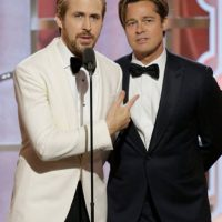 Y al lado de Ryan Gosling era perfección pura. Foto:vía Getty Images