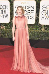 Amber Heard impactó a todos con este diseño de Gucci.ERNA