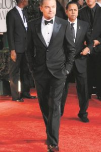 Leonardo Dicaprio, muy elegante vistiendo de Giorgio Armani Foto:Fuente Externa
