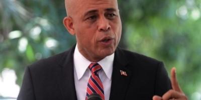 Martelly pide transición democrática durante acto por aniversario terremoto