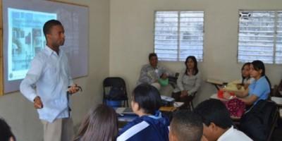 OTTT imparte charla de educación vial en el colegio Santa Rita de Cristo Rey